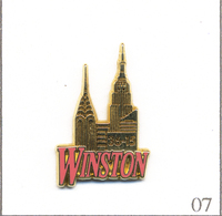 "Pin's Tabac - Marque De Cigarettes ""Winston"" - Service Minitel 36-15. Est. Arthus Bertrand. T605-07 - Food"
