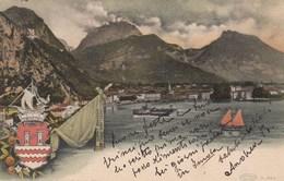 RIVA DEL GARDA-TRENTO-LAGO DI GARDA-BELLISSIMA CARTOLINA VIAGGIATA NEL 1905 - Trento