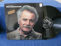 Georges Brassens - 33t - Nouvelles Chansons - Vinyles