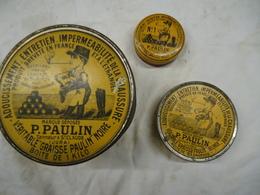 Lot Boîtes Métal Saint Paulin - 1914-18