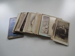 40 Alte Fotos / Portraits Um 1880 / 1890 Bzw. Vor 1900! Kinder / Familie / Auch Ein Soldaten Bild! Süddeutscher Raum - Fotos