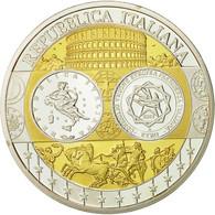 Italie, Médaille, Conseil De L'Union Européenne, 2003, SPL+, Argent - Other