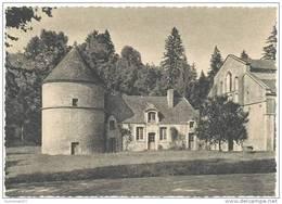 CPSM ABBAYE DE FONTENAY - Pigeonnier Façade Eglise - France