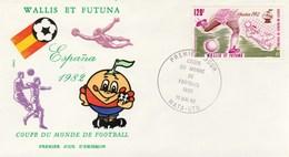 Wallis Et Futuna FDC  1982 Yvert  PA 116 - Coupe Du Monde Football - Sports - FDC