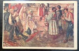 Postcard Painting Valic Unification 335.A - Peintures & Tableaux