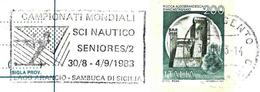 Italie / Italy (1983) - Agrigento : Championnat Mondial De Ski Nautique / World Water Ski Championship. - Water-skiing