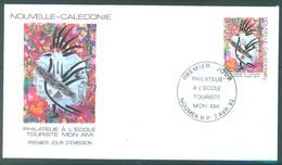 NOUVELLE CALEDONIE - 7.04.1993 - FDC - TOURISME MON AMI - Yv  637 - Lot 17221 - FDC