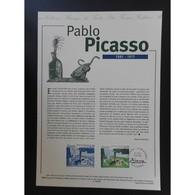 Document Officiel La Poste - Tableau Pablo Picasso - Documents De La Poste