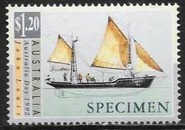 Australia/Australie: Specimen, Barca A Vela, Voilier, Sail Boat - Barche