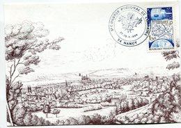 France-1983-Yt 2292(météorologie Nationale) Sur Carte Nancy(tiré à 2000 Ex, N°883) - France