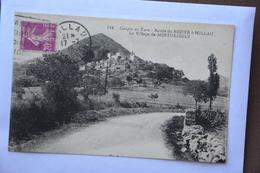 Route Du ROZIER  A MILLAU-le Village De MOSTUEJOULS - Other Municipalities