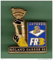 ROLAND GARROS 92 *** A2-FR3 *** Signe DECAT *** 0032 - Tennis