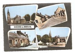 CPSM 28 OZOIR Le BREUIL Multivues - France