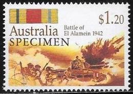 Australia/Australie: Specimen, Battaglia Di El Alamein, Battle Of El Alamein, Bataille D'El Alamein - Seconda Guerra Mondiale