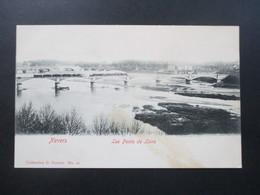 AK Frankreich 1900 / 1910 Nevers Les Ponts De Loire. Eisenbahnbrücke. Collection G. Guerot No. 12 - Nevers