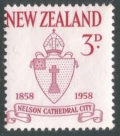 New Zealand. 1958 Centenary Of City Of Nelson. 3d MH. SG 767 - New Zealand