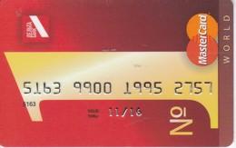 TARJETA DE BANCO DE UCRANIA (CREDITCARD-BANK-VISA) - Tarjetas Telefónicas