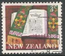 New Zealand. 1968 Centenary Of The Maori Bible. 3c Used. SG 883 - New Zealand