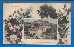 52 * NONCOURT - FANTAISIE - JE VOUS ENVOIE CES FLEURS - 1909 - VERSO - Autres Communes