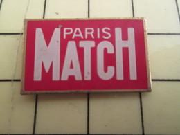 Sp03 Pin's Pins / Rare Et Beau THEME MEDIAS / EDITIONS PRESSE MAGAZINE PARIS-MATCH Magazine De La Lèche - Medias