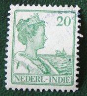 Read 20 Ct Koningin Wilhelmina NVPH 120 1914 1913-1932 Gestempeld / Used INDIE / DUTCH INDIES - Niederländisch-Indien