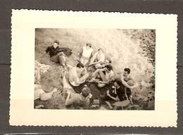 PHOTO ORIGINALE 22 SEPTEMBRE 1951 CREIL L'ILE SAINT MAURICE OISE ( 60 ) PIQUE NIQUE - Lugares