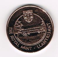 &   TOKEN  THE ROYAL MINT . LLANTRISANT - YOUNG COLLECTORS CLUB - Royaume-Uni
