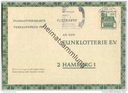 FP 8 - Funklotterie-Postkarte Berlin - Bedarfsgebraucht - Wertstempel 20 Pfg Lorsch / Hessen - Gelaufen Im April 1969 - Berlin (West)