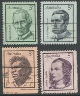 Australia. 1968 Famous Australians (1st Series). Used Complete Set. SG 432-435 - Used Stamps