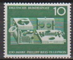 BRD 1961 MiNr. 373 ** Postfr. 100 Jahre Telefon Von Philipp Reis ( 6906 )günstige Versandkosten - BRD