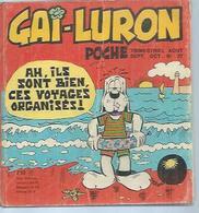 GAI-LURON  N°27    - AOUT 1973  VAILLANT - Gai-Luron