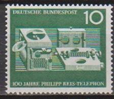 BRD 1961 MiNr. 373 ** Postfr. 100 Jahre Telefon Von Philipp Reis ( 6907 )günstige Versandkosten - BRD