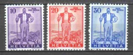 Switzerland 1936 Mi 294-296 MH PRO PATRIA - Pro Patria