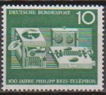 BRD 1961 MiNr. 373 ** Postfr. 100 Jahre Telefon Von Philipp Reis ( 6908 )günstige Versandkosten - BRD