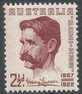 Australia. 1949 Henry Lawson Commemoration. 2½d MNH. SG 231 - Mint Stamps