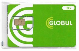 Bulgaria - Globul - 3G GSM SIM 2 Mini (Type #1), NSB - Bulgaria