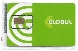 Bulgaria - Globul - GSM SIM 2 Mini (Type #1), NSB - Bulgaria