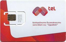 Bulgaria - M-Tel - Prima Red White - GSM SIM (Type #3), Mint - Bulgaria