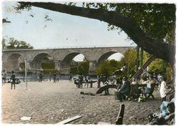 CPSM AIGUILLON PLAGE - Le Pont Napoléon Et La Plage - Ed. THEOJAC N°4-14 - France