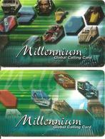 2-CARTES-+PREPAYEE-NL-MILLENNIUM-BE-RARE - Cartes GSM, Prépayées Et Recharges