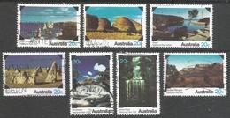 Australia. 1979 National Parks. Used Complete Set. SG 708-714 - Used Stamps