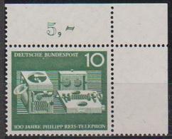 BRD 1961 MiNr. 373 ** Postfr. 100 Jahre Telefon Von Philipp Reis ( 6910 )günstige Versandkosten - BRD