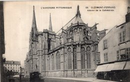 B51657 Clermont Ferrand , Abside De  La Cathédrale - Non Classés