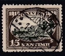 LETTLAND 1928 - MiNr: 133  Used - Lettland