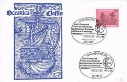 29084. Tarjeta HAMBURG (Alemania Federal) 1980. Clinical Chemistry. OCEANICA - [7] República Federal