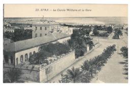 Tunisie. Sfax, Le Cercle Militaire Et La Gare (3918) - Tunisie