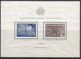LETTLAND 1938 - MiNr: 262+263  Block 1  **/MNH - Lettland