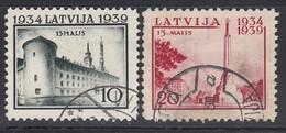 LETTLAND 1939 - MiNr: 273+274  Used - Lettland