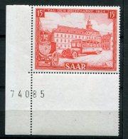 7538  SARRE   N°  329**   15 F Rouge  : Journée Du Timbre    1954    TTB - Ungebraucht