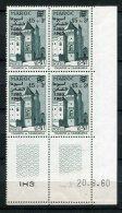 7540   MAROC  N° 411**  15 F + 3 F : Mahakma De Casablanca  Coin Daté  Du 20.8.60  TTB - Morocco (1956-...)